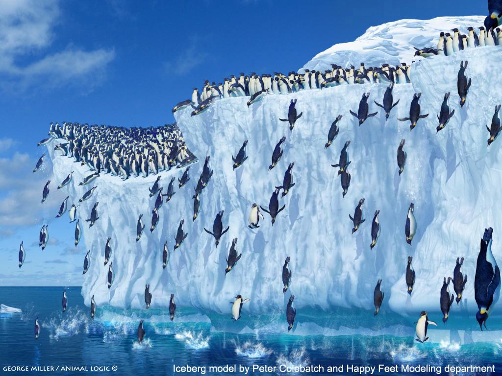 В небольшой защищенной бухте на острове рядом с большой колонией королевских пингвинов фотограф пол соудерс